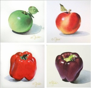 Apples peppers and foods high in flavonoids prevent weight gain